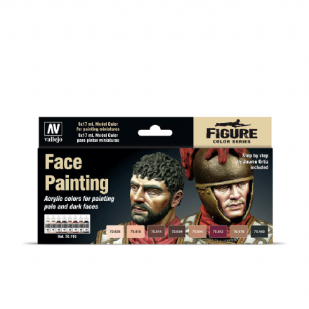 Vallejo Model Colour Face Painting Set